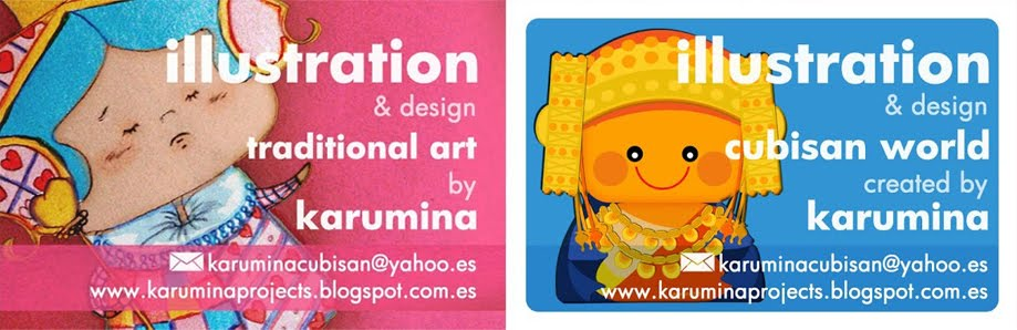 karumina. children's book illustrator