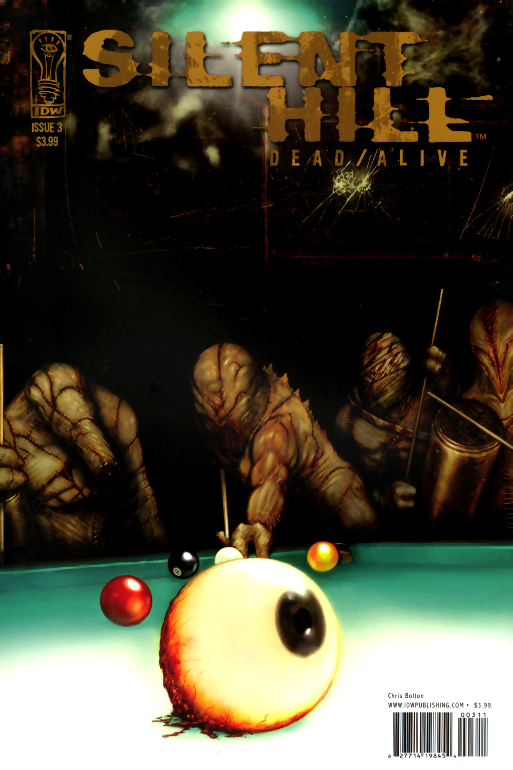 Read online Silent Hill: Dead/Alive comic -  Issue #3 - 1