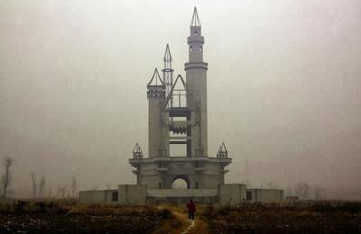 Parque de atracciones abandonado cerca de Pekín