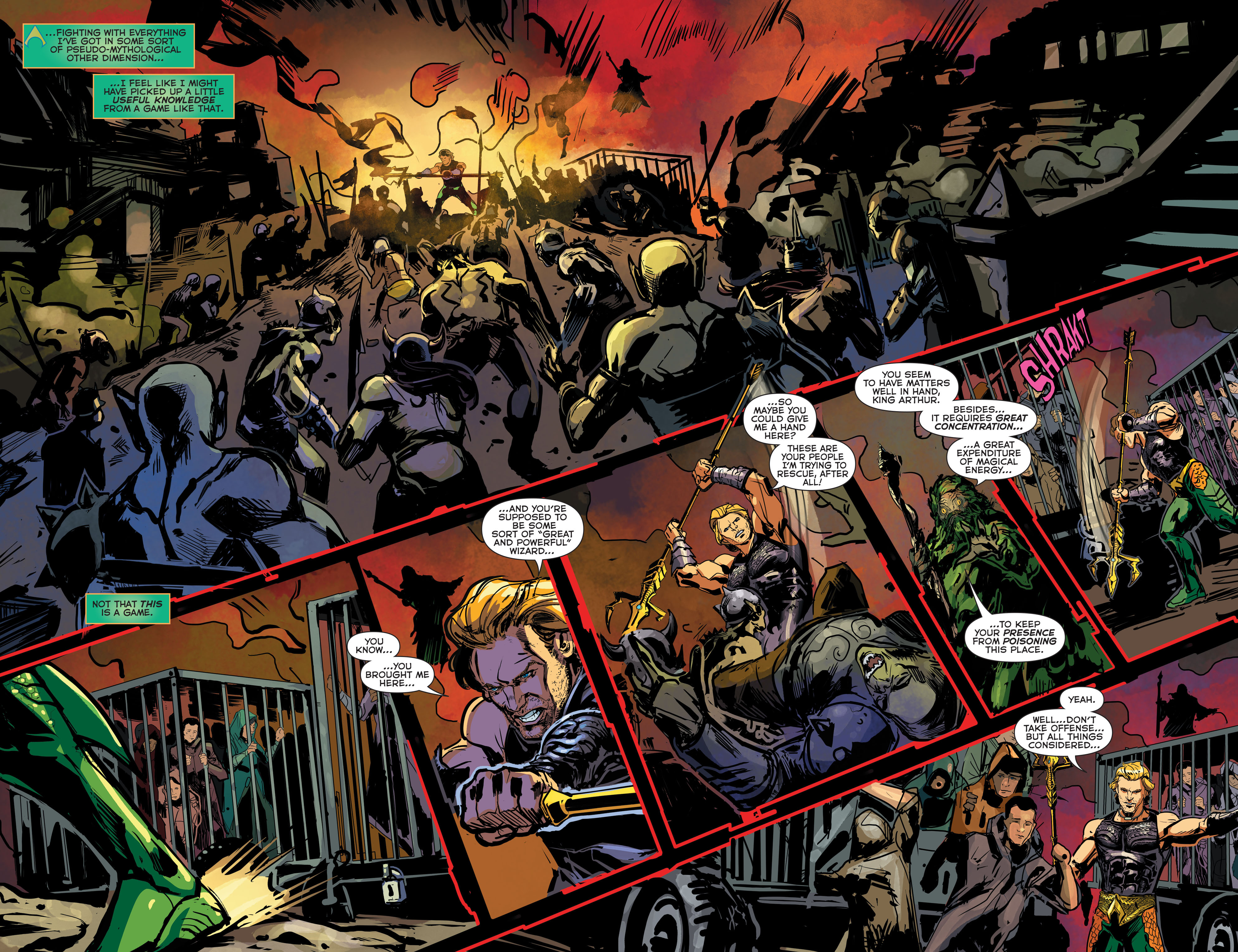 Read online Aquaman (2011) comic -  Issue #42 - 5