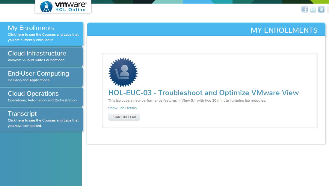 Elastic Sky Labs: VMware's HOL - Troubleshoot and Optimize