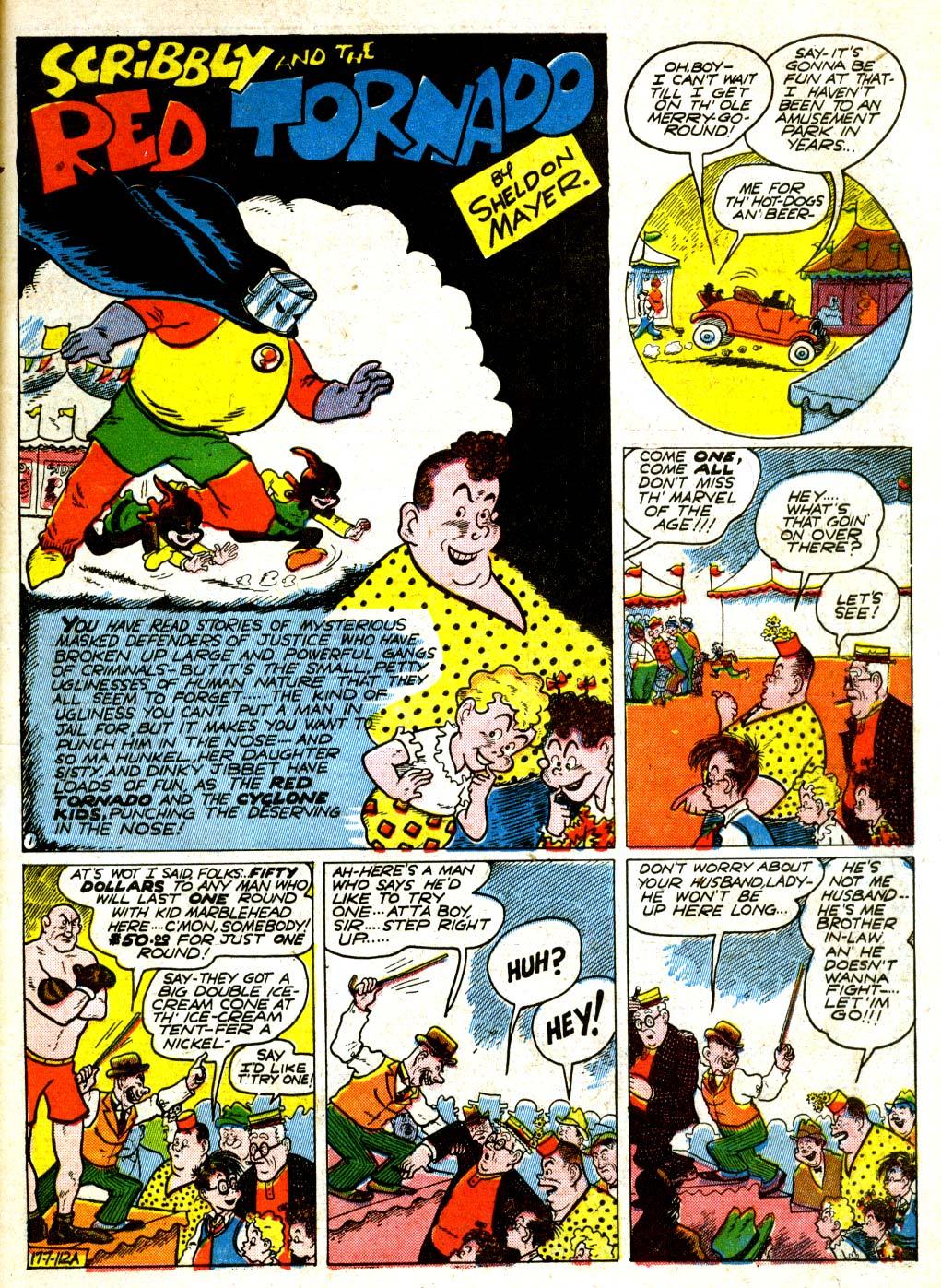 Read online All-American Comics (1939) comic -  Issue #29 - 12