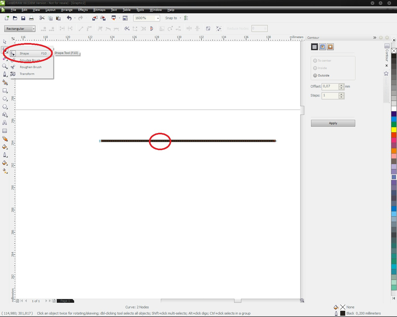 FULLDESIGN: tutorial membuat logo pada corel draw x4