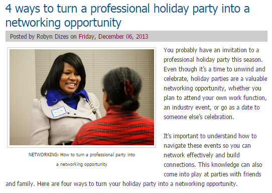 04e7a13ab7d9 The holiday party is usually a time for professionals to enjoy time off  from work with friends or family, so they might not want ...