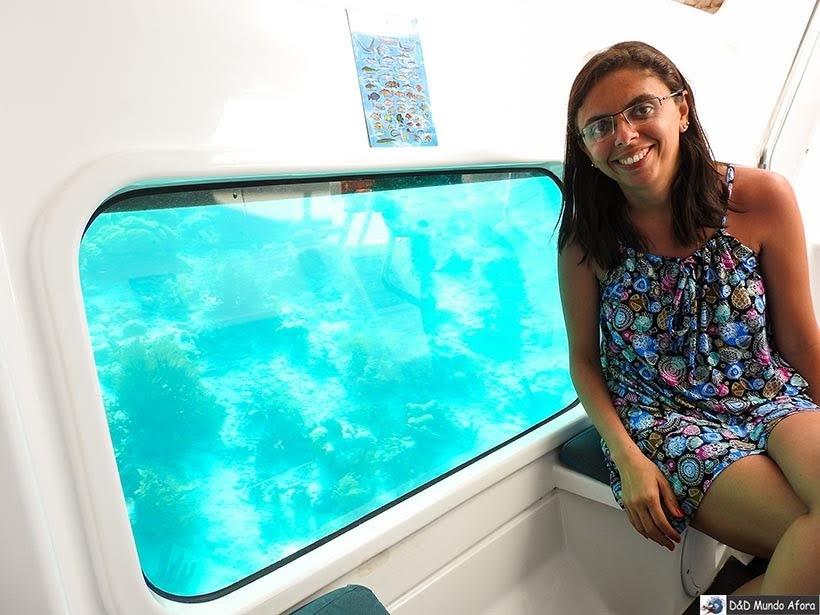 Passeio de semi-submarino - O que fazer em Bonaire, Caribe