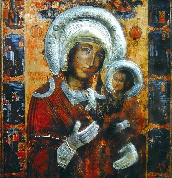 Icono milagroso Virgen María Portaitissa, Monasterio de Rozhen