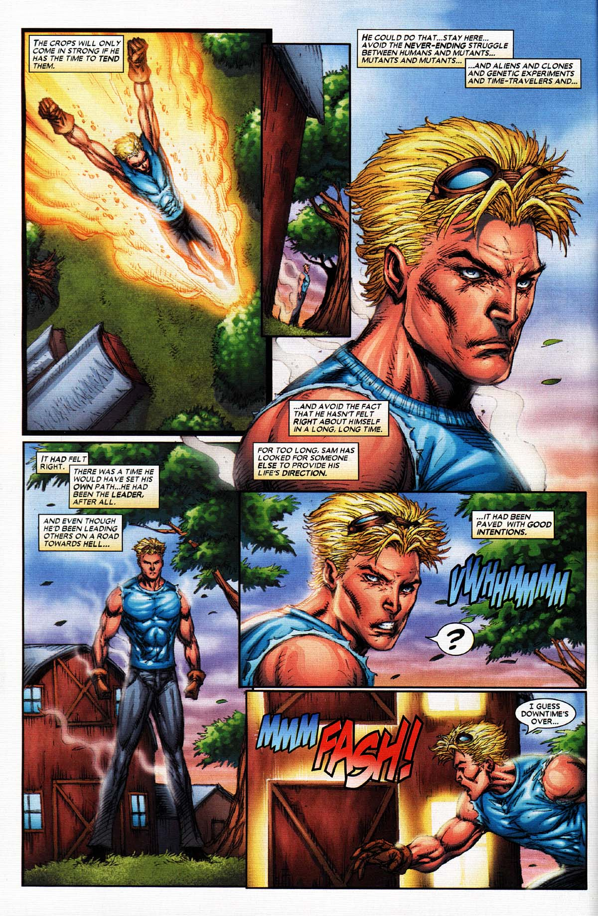 Read online X-Force (2004) comic -  Issue #2 - 5