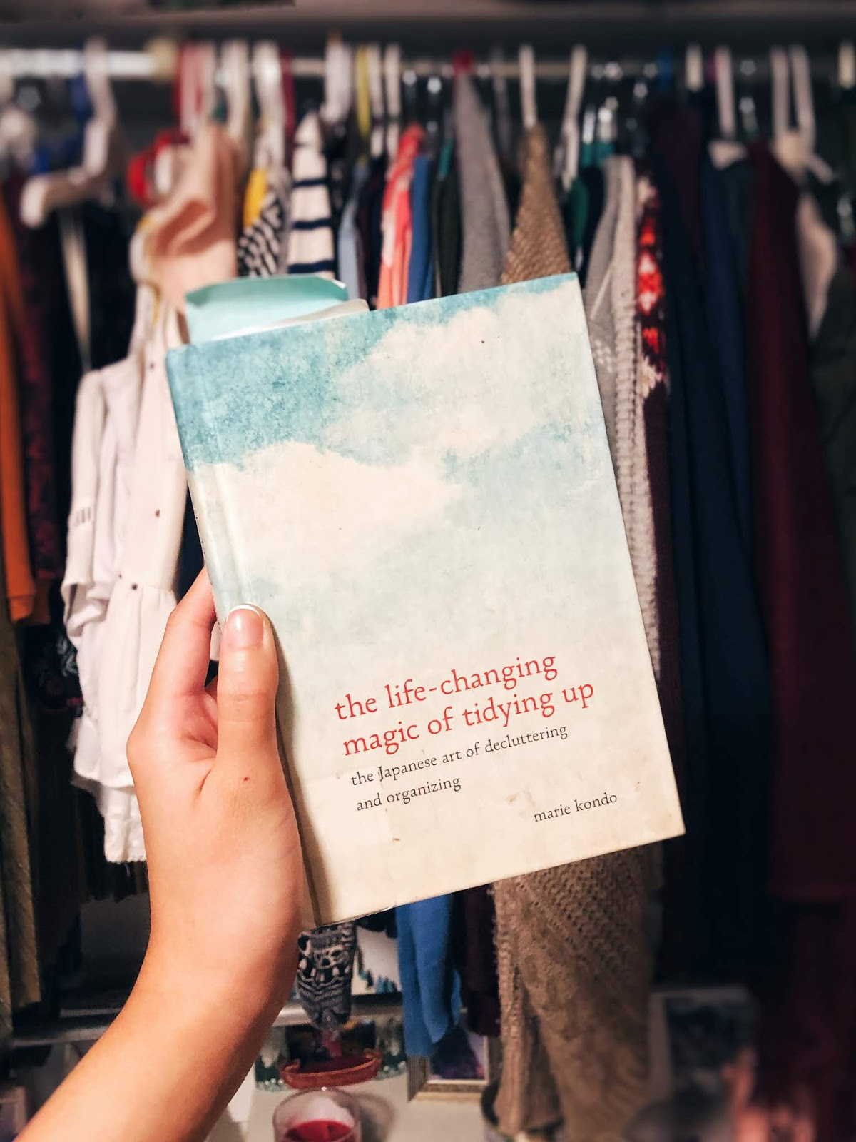 I Followed Marie Kondo's KonMari Method to Clean My Closet and This is What Happened