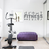 VINILO DECORATIVO FITNESS PICTOGRAMAS - FIT75