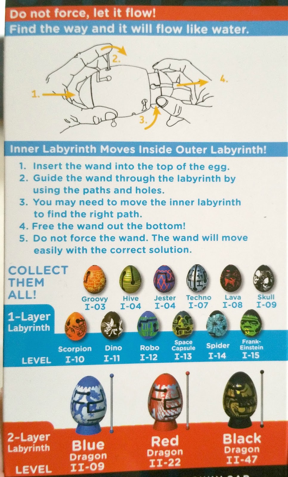 Smart Eggs, maze, labyrinth puzzle game
