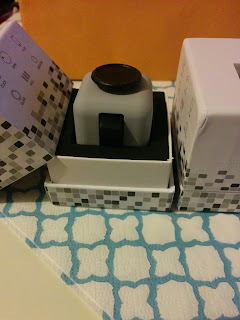 one half unboxed grey fidget cube. Image from onequartermama.ca
