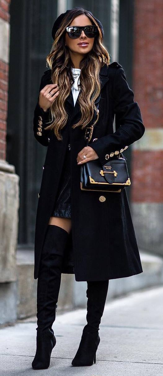 35+ Trendy Outfit Ideas to Wear in Cold Weather