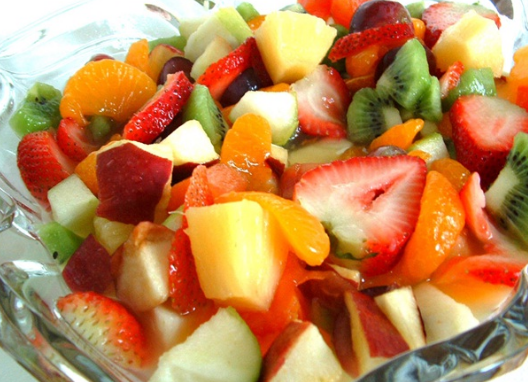 Bahan-Bahan Membuat Salad Buah Untuk Diet Sederhana