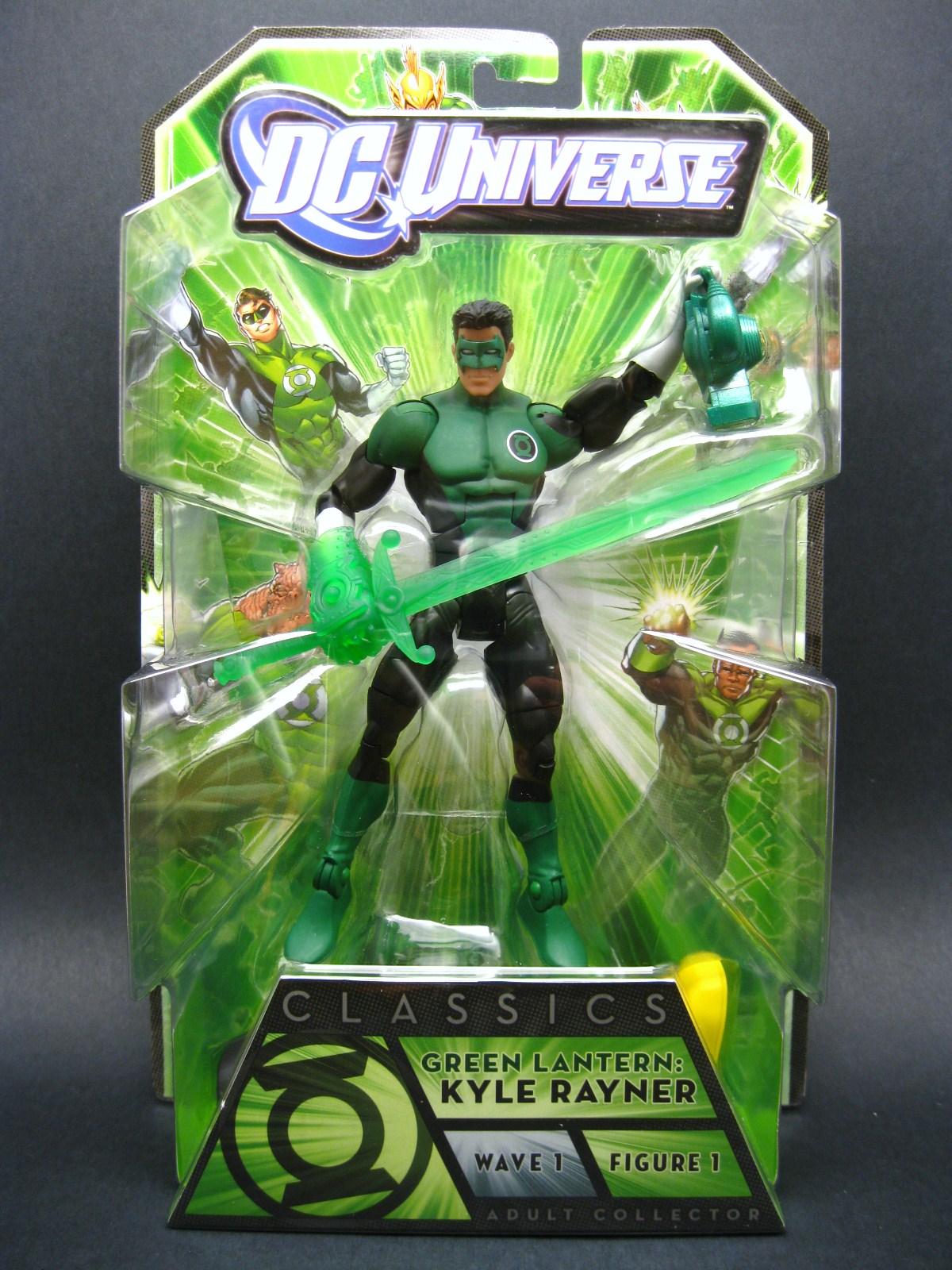 green lantern kyle rayner constructs