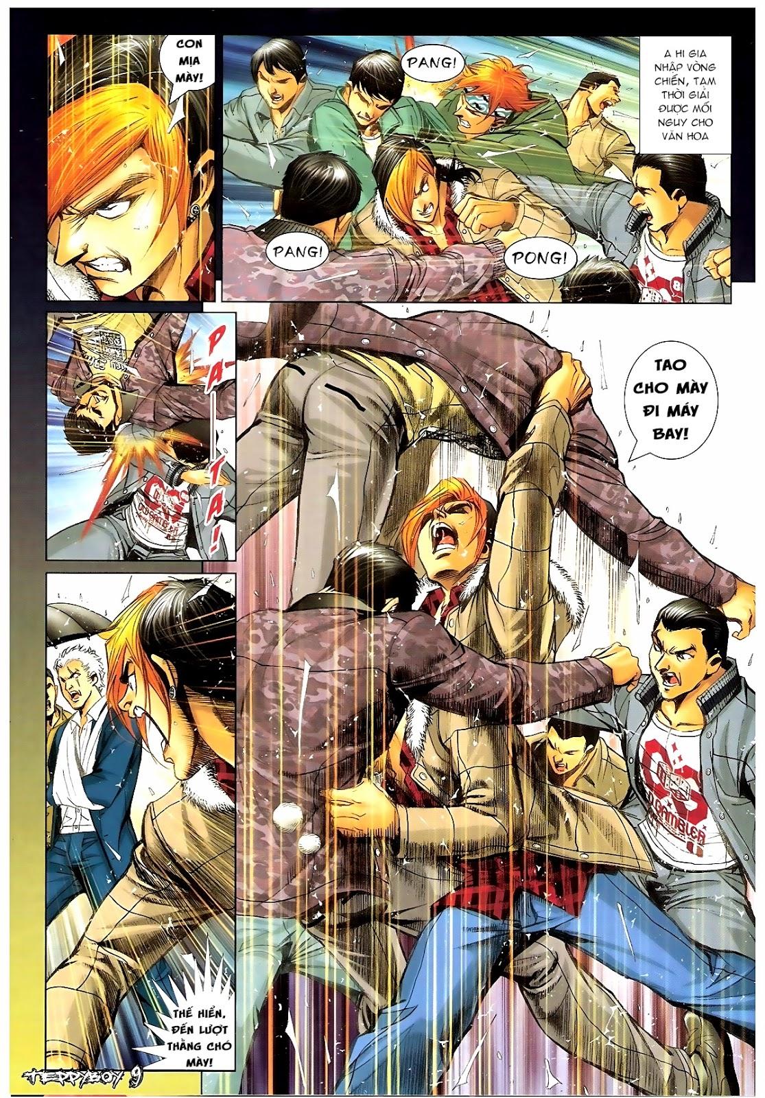 Người Trong Giang Hồ - Chapter 1383: Tiểu Xuân vs Thế Chương - Pic 6