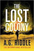 The Lost Colony by A.G. Riddle (Book cover)