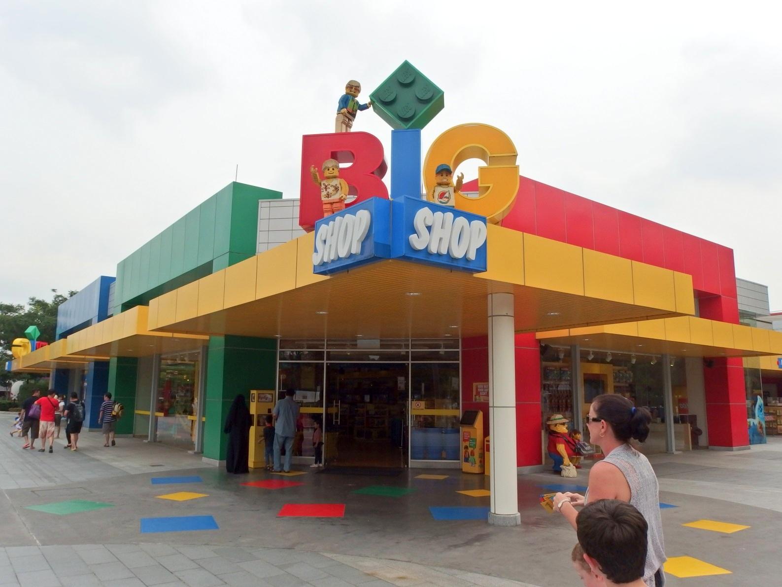 Visiting the Big Shop at Legoland Malaysia   Brickin' Awesome