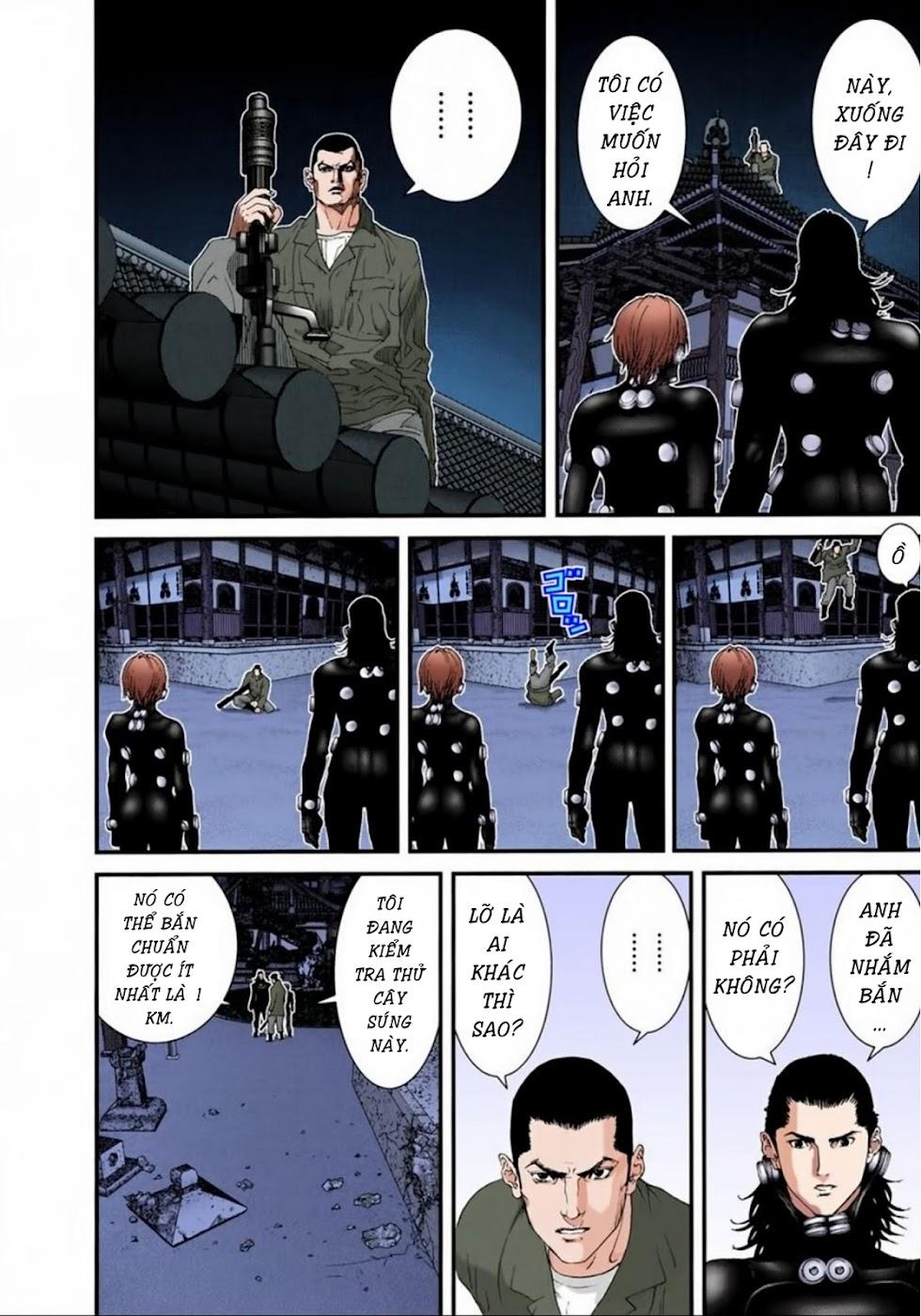 Gantz Chap 67: Phá hủy trang 14