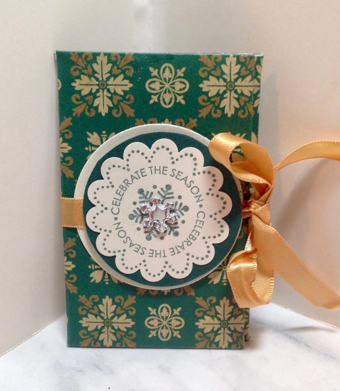 Amy S Creative Pursuits A Handmade Gift Card Holder