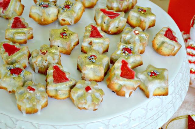 Bizcochitos de Semillas de amapolas y mandarinas