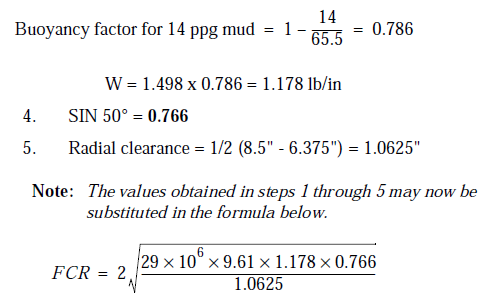 Petroleum & Gas Engineering: Calculating Critical Buckling Force