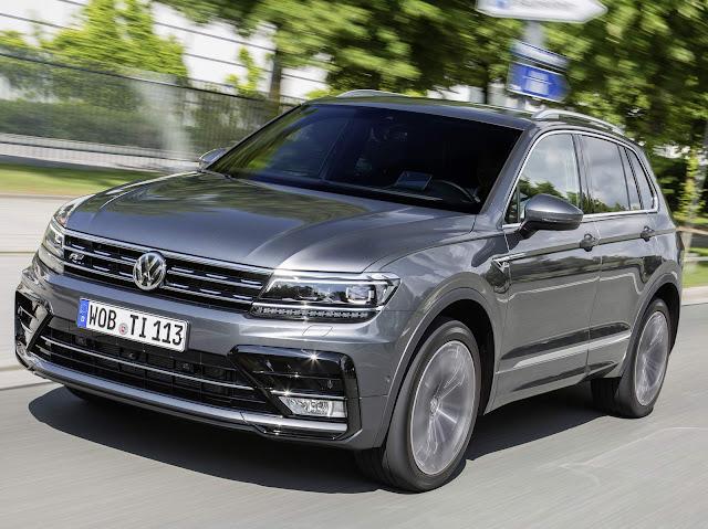 Novo VW Tiguan 2017 - SUV mais vendido na Europa