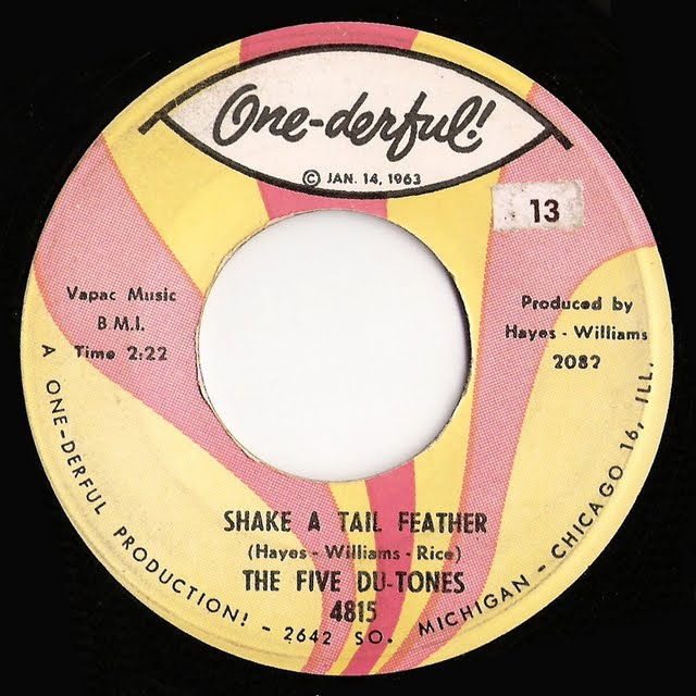 Shake a tail feather. The five du-tones
