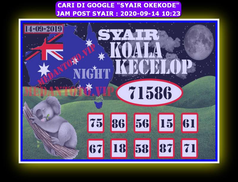 Kode syair Sydney Senin 14 September 2020 130