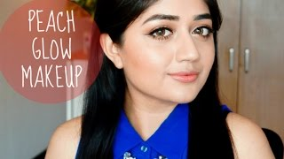Peach Glow Makeup Tutorial