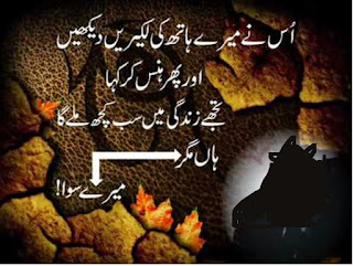 Uss nay Meray Hath ki Lakeerain Dekhin Aur Phir Hans kr Kaha - Urdu Poetry Lovers