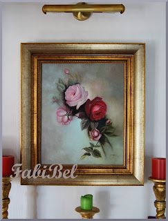 huile sur toile roses oil on canvas roses