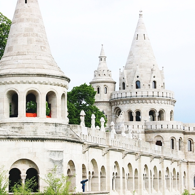 travel photos of Fisherman's bastion Budapest Hungary