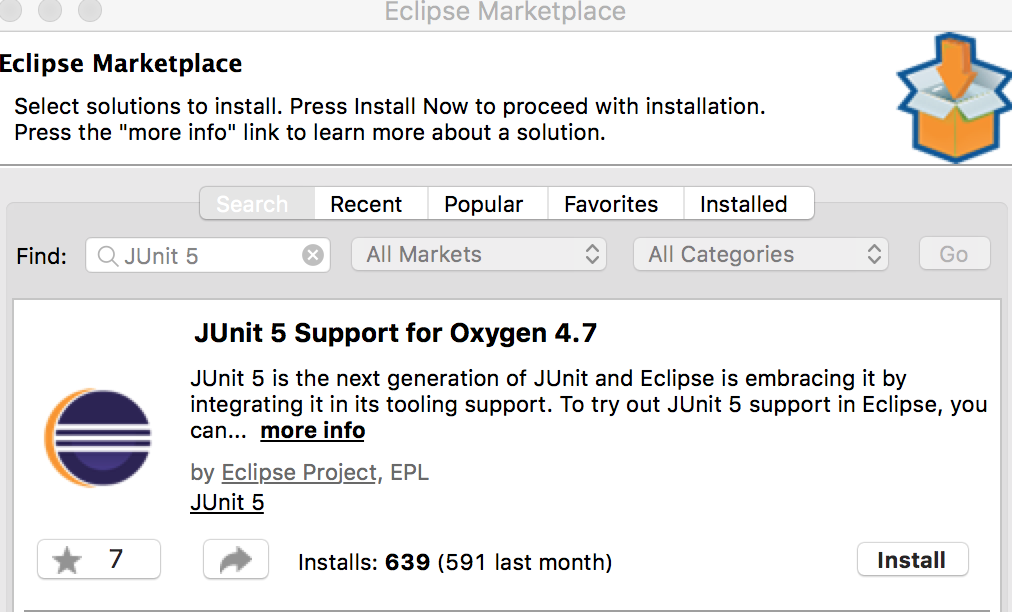 Confessions of an Agile Coach: Getting JUnit 5 into your Eclipse 4 7