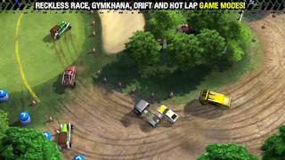 Merupakan sebuah game racing dengan sudut pandang top Unduh Game Android Gratis Reckless Racing 3 apk + obb