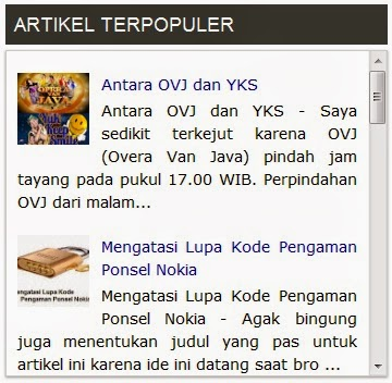 Popular Post-Terwujud.com