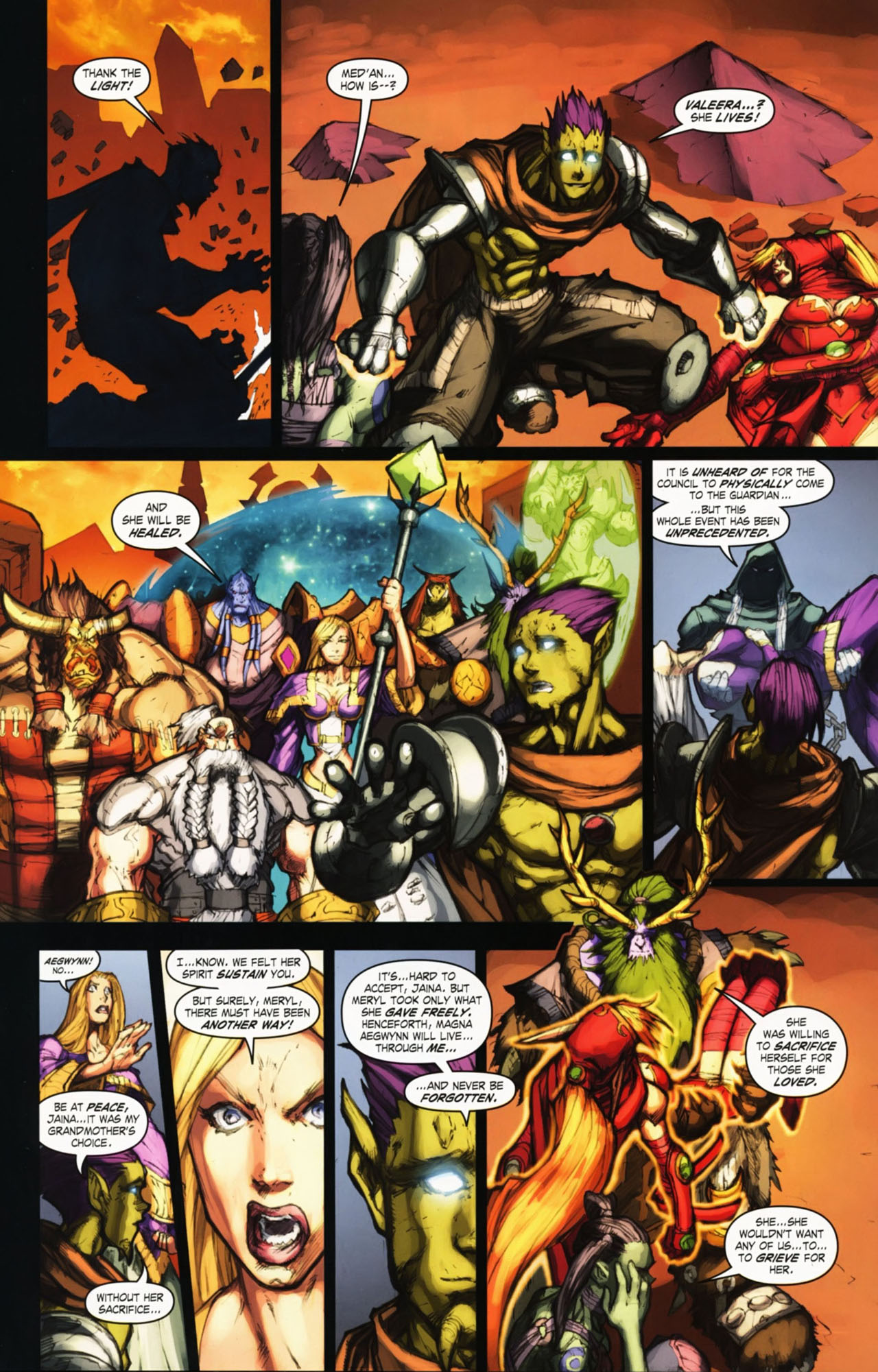Read online World of Warcraft comic -  Issue #25 - 37