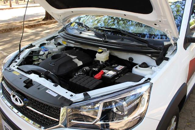 Chery Tiggo 2 Automático - motor 1.5 Flex + transmissão automática
