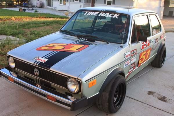 1977 Vw Rabbit Race Car Buy Classic Volks