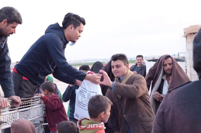 Tabung Syria Bantuan Kilat RM200,000 Bersama Muslim Volunteer Malaysia