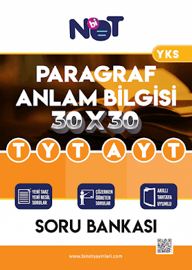 Binot TYT AYT Paragraf Anlam Bilgisi Soru Bankası PDF