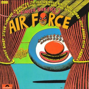 "GINGER BAKER'S AIRFORCE : ""Ginger Baker's Airforce"" 1970"