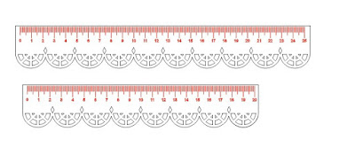 ruler free cdr file for your kid