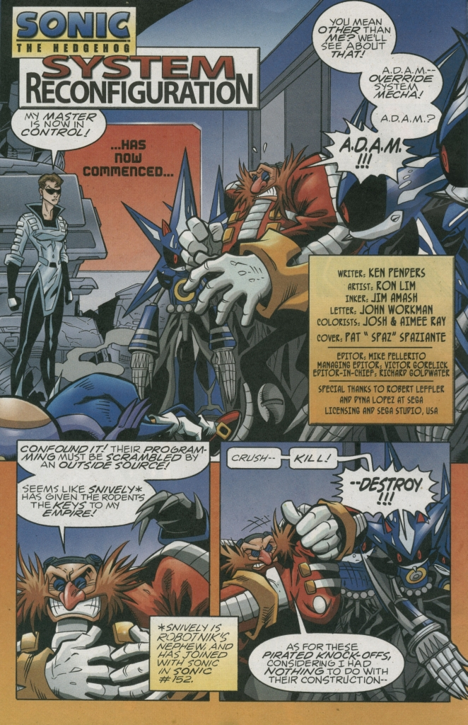 Read online Sonic The Hedgehog comic -  Issue #158 - 4