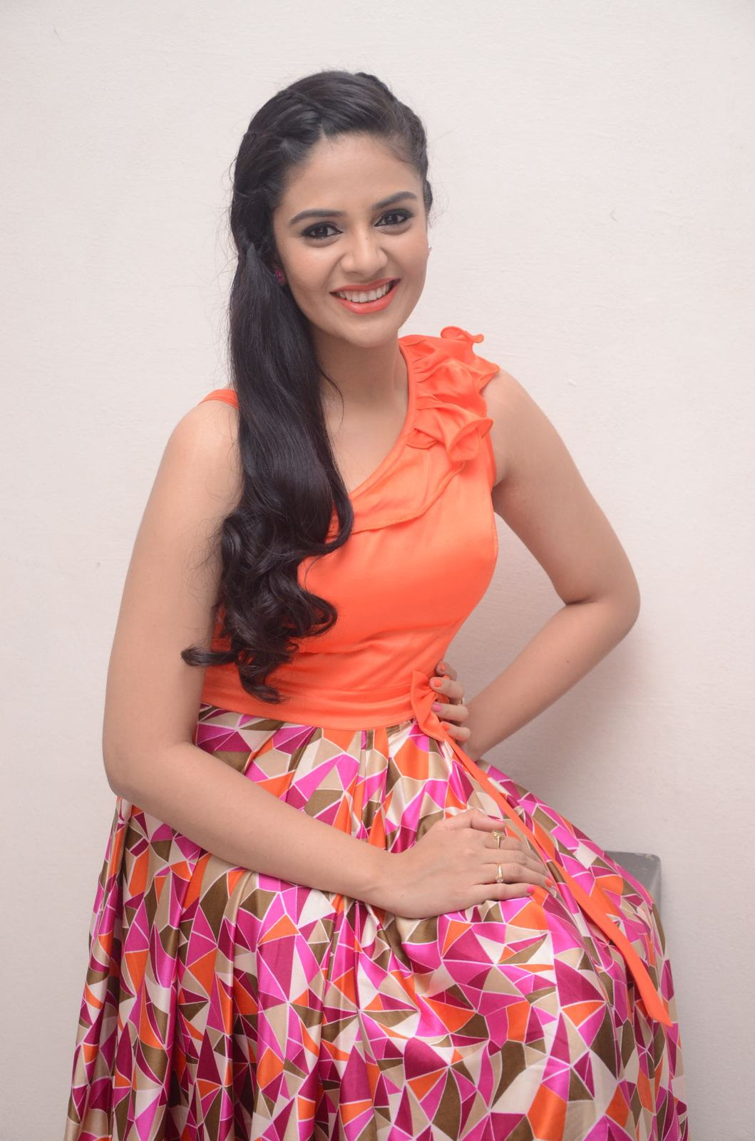 Srimukhi Latest Photos From Thank You Mithrama Movie Event -9181