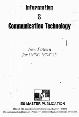 INFORMATION & COMMUNICATION TECHNOLOGY [IES MASTER]