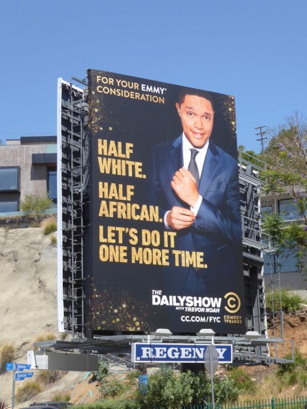 Daily Show Trevor Noah 2017 Emmy FYC billboard
