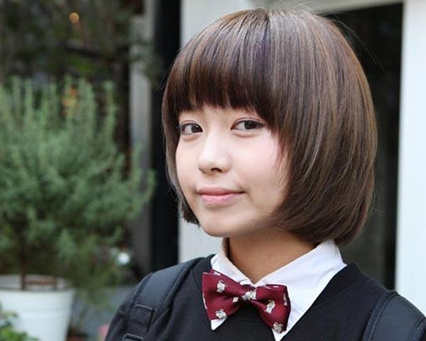 Astounding Korean Simple Hairstyles For School Girls Korean Hairstyle Trends Short Hairstyles For Black Women Fulllsitofus
