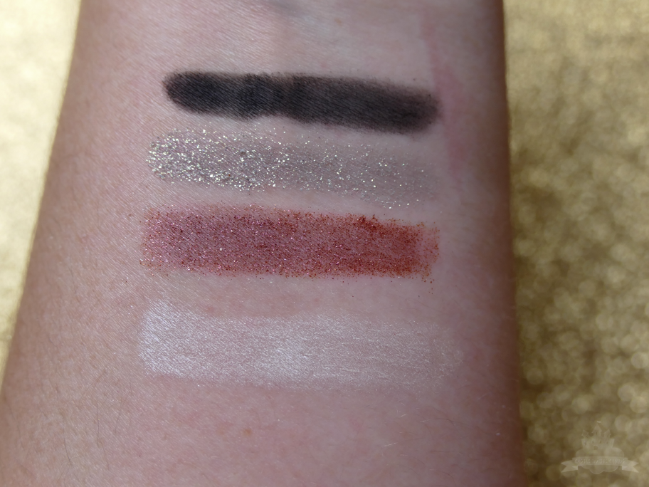 """Artistry Signature Color Lidschatten Palette """"All-out Glam"""" Swatches"""