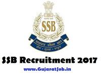 SSB 872 SI, ASI, Head Constable Posts Recruitment 2017