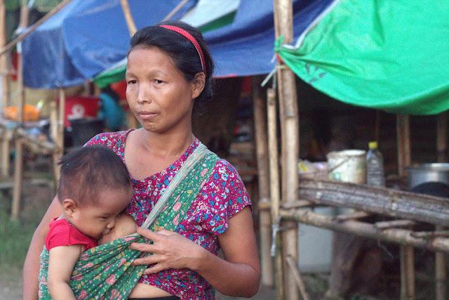 ၿဖိဳးသီဟခ်ဳိ (Myanmar Now) ● ျမန္မာျပည္ေျမာက္ပိုင္းမွ အေမ့ခံ မိခင္မ်ား